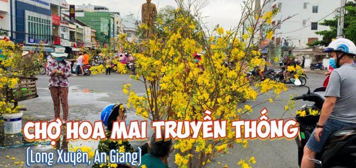 Chợ hoa mai Long Xuyên