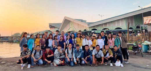 Nhóm Lang Thang An Giang offline Chợ Nổi Long Xuyên 2019