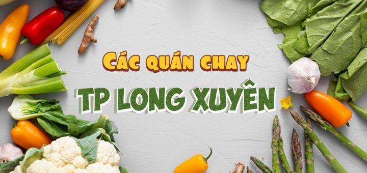 Quán chay ở TP Long Xuyên, An Giang