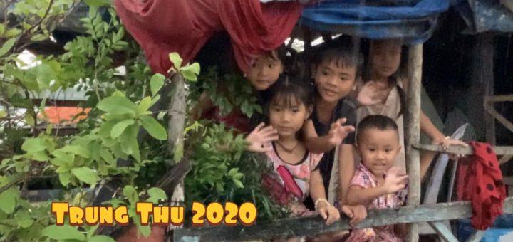 Trung thu 2020 cùng trẻ em nghèo ở Khu nhà nổi trên sông Hậu