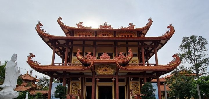 Chùa Long Đức - Tân Châu