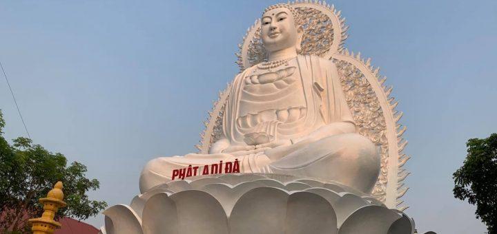 Tượng Phật Thích Ca cao 21 mét ở Tịnh Thất Quy Nguyên