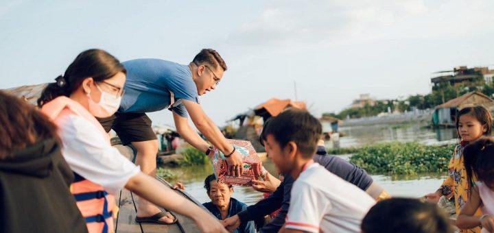 Nhóm Lang Thang An Giang trao quà tết Tân Sửu 2021