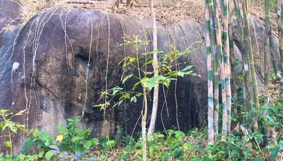 Núi Tượng ở TT Ba Chúc