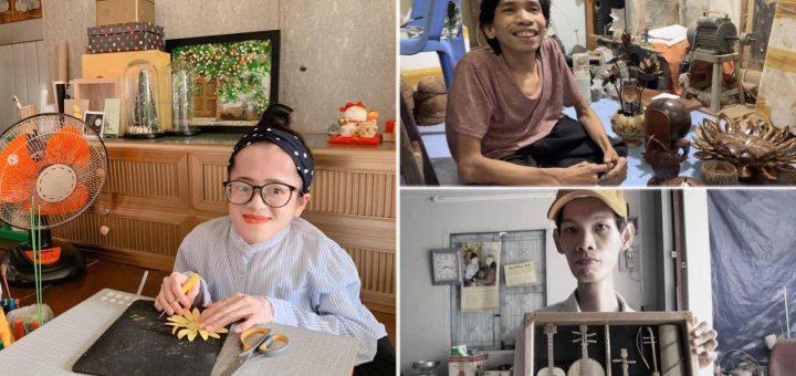 Tấm gương khuyết tật vượt lên trên số phận ở An Giang