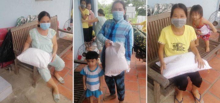 Hỗ trợ 250kg gạo cho bà con phường Mỹ Hòa - TP Long Xuyên